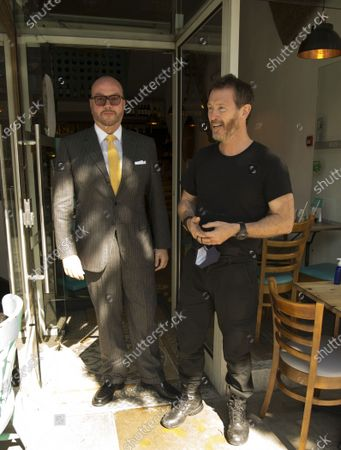Editorial photo of 'Renegades' on set filming, London, UK - 02 Jul 2021