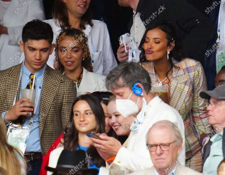 FKA Twigs and Maya Jama in the crowd on Centre Court