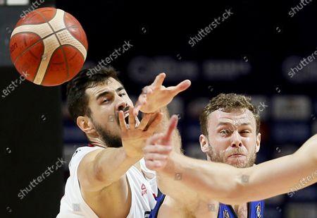 Editorial image of Serbia Belgrade Basketball Fiba Oqt Serbia vs Italy - 04 Jul 2021