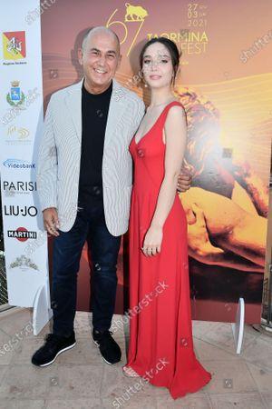 Editorial photo of 67th Taormina Film Fest, Taormina, Italy - 03 Jul 2021