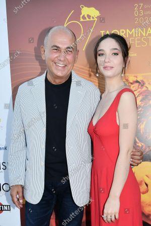 Editorial picture of 67th Taormina Film Fest, Taormina, Italy - 03 Jul 2021
