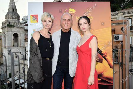 Anna Ferzetti, the director Ferzan Ozpetek, Matilda De Angelis