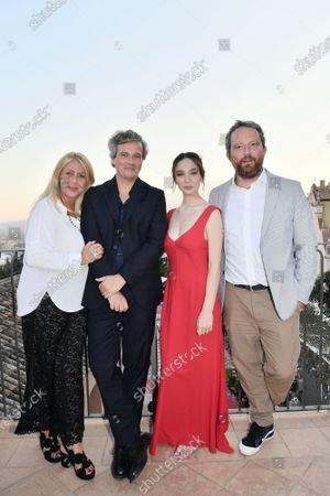 Festival's directors Alessandra De Luca, Francesco Alo, Matilda De Angelis, Federico Pontiggia