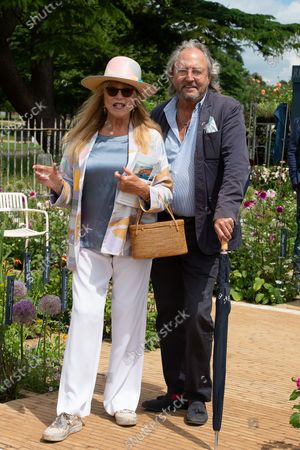 Stock Image of Pattie Boyd and Rod Weston at RHS Hampton Court