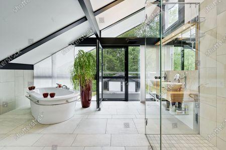 Editorial image of Antonio Banderas house on the market for £2.95m, Cobham, Surrey, UK - 16 Jul 2020