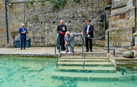 Editorial photo of Prince Charles visit to St Winefride's Well, Flintshire, North Wales, UK - 05 Jul 2021