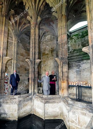 Editorial image of Prince Charles visit to St Winefride's Well, Flintshire, North Wales, UK - 05 Jul 2021