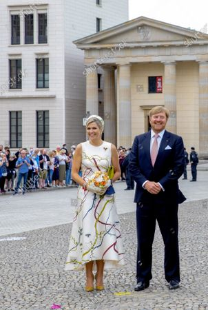Editorial picture of King Willem-Alexander and Queen Maxima visit to Germany, Berlin, Germany - 05 Jul 2021