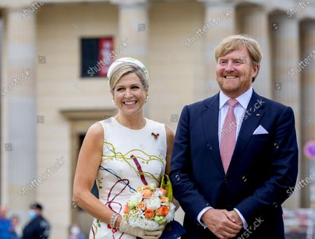 Editorial photo of King Willem-Alexander and Queen Maxima visit to Germany, Berlin, Germany - 05 Jul 2021