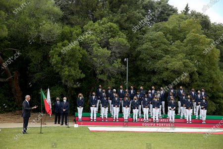 Editorial image of Portuguese President meets with Olympic athletes ahead of Tokyo 2020 Olympics, Lisbon, Portugal - 05 Jul 2021