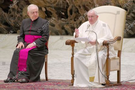 Editorial photo of Pope Francis General Weekly Audience, Vatican City, Vatican - 14 Oct 2020