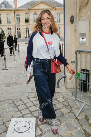 Editorial photo of Dior show, Outside Arrivals, Haute Couture Fashion Week, Paris, France - 05 Jul 2021