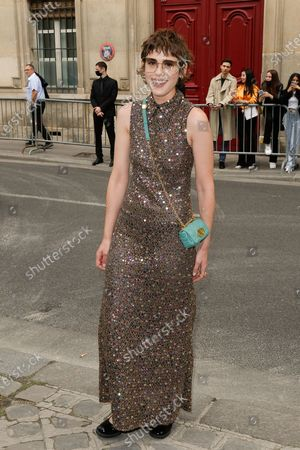 Editorial picture of Dior show, Outside Arrivals, Haute Couture Fashion Week, Paris, France - 05 Jul 2021