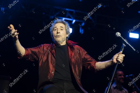 Editorial image of Singer Miguel Rios in concert, Madrid, Spain - 04 Jul 2021