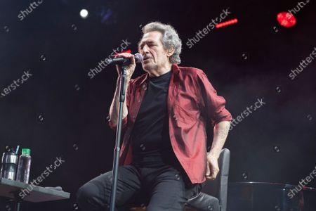 Editorial photo of Singer Miguel Rios in concert, Madrid, Spain - 04 Jul 2021