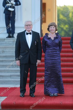 Editorial picture of State Visit of the Royal Dutch Couple, Bellevue Palace, Berlin, Germany - 05 Jul 2021
