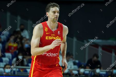 Pau Gasol  of Spain during fiendrly match between Spain and Iran to preparation to Tokyo 2021 Olympics Games on July 05, 2021 in Madrid, Spain. Photo: Oscar Gonzalez/NurPhoto