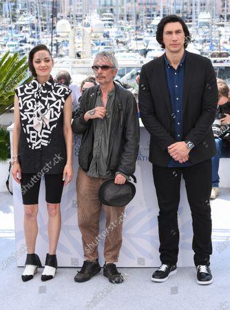 Marion Cotillard, Leos Carax and Adam Driver