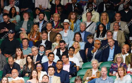 Stock Picture of Lewis Capaldi, Amelia Tank, Jack and Hilary Whitehall, Olly Murs, Benedict Cumberbatch and his father Timothy Carlton, Jessie J, Dave, Stormzy, Anne-Marie Corbett and Ant McPartlin
