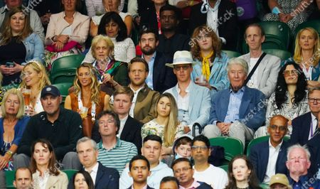 Editorial picture of Wimbledon Tennis Championships, Day 8, The All England Lawn Tennis and Croquet Club, London, UK - 06 Jul 2021
