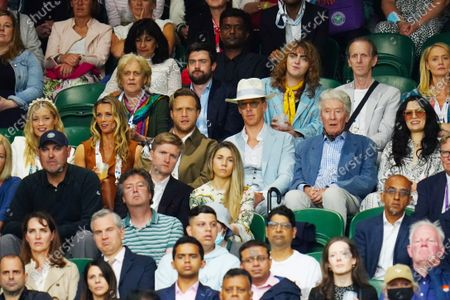 Editorial photo of Wimbledon Tennis Championships, Day 8, The All England Lawn Tennis and Croquet Club, London, UK - 06 Jul 2021