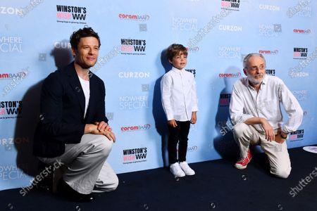 James Norton, Daniel Lamont and Umberto Pasolini