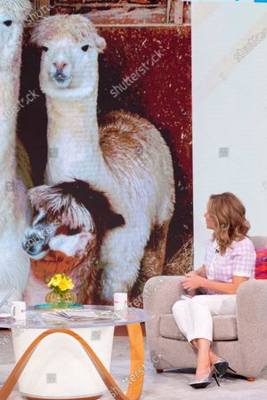 Editorial image of 'Lorraine' TV show, London, UK - 06 Jul 2021
