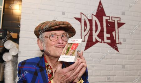 Editorial picture of Noddy Holder 'Pret Christmas Sandwich' launch, London, UK - 06 Jul 2021