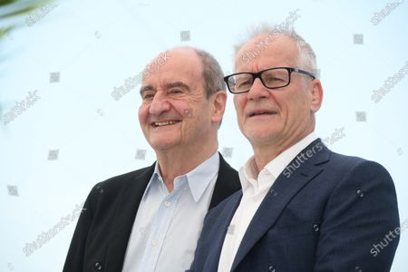 Pierre Lescure and Thierry Framaux