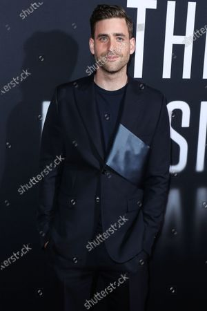 Actor Oliver Jackson-Cohen arrives at the Los Angeles Premiere Of Universal Pictures' 'The Invisible Man' held at the TCL Chinese Theatre IMAX on February 24, 2020 in Hollywood, Los Angeles, California, United States.