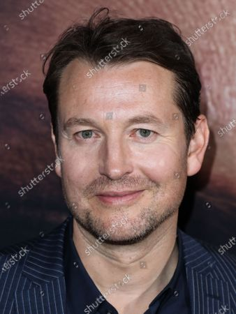 Leigh Whannell arrives at the Los Angeles Premiere Of Universal Pictures' 'The Invisible Man' held at the TCL Chinese Theatre IMAX on February 24, 2020 in Hollywood, Los Angeles, California, United States.