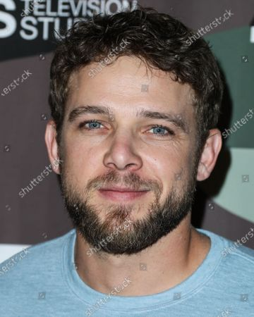 Max Thieriot arrives at the Los Angeles Premiere Of CBS Television Studios' 'SEAL Team' held at ArcLight Cinemas Hollywood on February 25, 2020 in Hollywood, Los Angeles, California, United States.