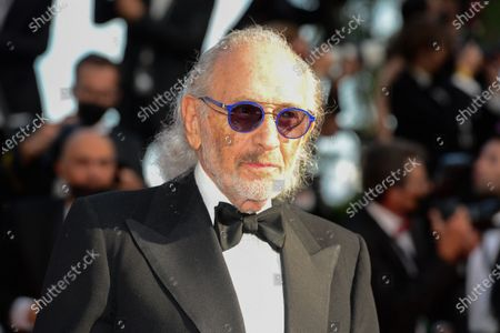 Stock Picture of Jerry Schatzberg arrives for the screening of 'Annette' and the Opening Ceremony of the 74th annual Cannes Film Festival, in Cannes, France, 06 July 2021. Presented in competition, the movie opens the festival which runs from 06 to 17 July.