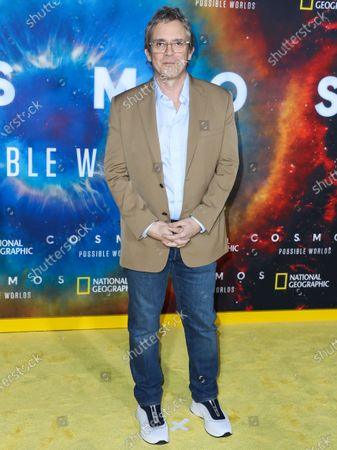 Brannon Braga arrives at the Los Angeles Premiere Of National Geographic's 'Cosmos: Possible Worlds' held at Royce Hall at the University of California, Los Angeles (UCLA) on February 26, 2020 in Westwood, Los Angeles, California, United States.