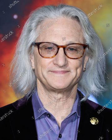 Jeffrey A. Okun arrives at the Los Angeles Premiere Of National Geographic's 'Cosmos: Possible Worlds' held at Royce Hall at the University of California, Los Angeles (UCLA) on February 26, 2020 in Westwood, Los Angeles, California, United States.