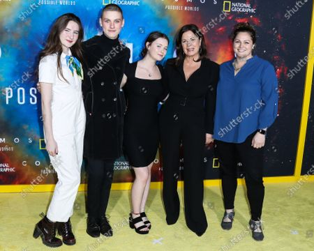 Editorial photo of Los Angeles Premiere Of National Geographic's 'Cosmos: Possible Worlds', Westwood, United States - 26 Feb 2020