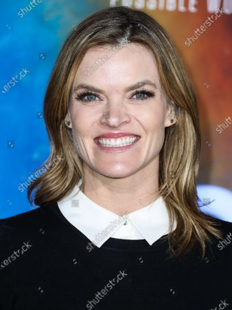Actress Missi Pyle arrives at the Los Angeles Premiere Of National Geographic's 'Cosmos: Possible Worlds' held at Royce Hall at the University of California, Los Angeles (UCLA) on February 26, 2020 in Westwood, Los Angeles, California, United States.