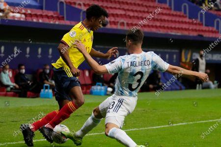 Editorial picture of Argentina Colombia Copa America Soccer, Brasilia, Brazil - 06 Jul 2021