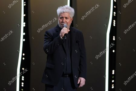 Pedro Almodovar, Opening Ceremony, the 74th International Cannes Film Festival, at Palais des Festivals