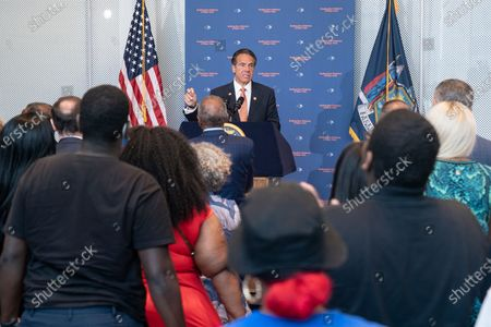 Editorial image of NY: Governor Cuomo makes an announcement regarding gun violence, New York, United States - 06 Jul 2021