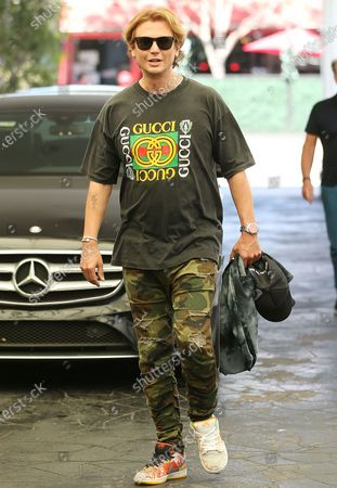Editorial photo of Jonathan Cheban out and about in Los Angeles, California, USA - 06 Jul 2021