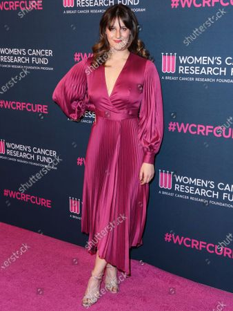 Destry Allyn Spielberg arrives at The Women's Cancer Research Fund's An Unforgettable Evening Benefit Gala 2020 held at the Beverly Wilshire, A Four Seasons Hotel on February 27, 2020 in Beverly Hills, Los Angeles, California, United States.