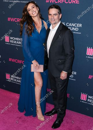 Stock Picture of Ingrid Vandebosch and Jeff Gordon arrive at The Women's Cancer Research Fund's An Unforgettable Evening Benefit Gala 2020 held at the Beverly Wilshire, A Four Seasons Hotel on February 27, 2020 in Beverly Hills, Los Angeles, California, United States.
