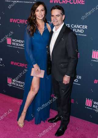 Ingrid Vandebosch and Jeff Gordon arrive at The Women's Cancer Research Fund's An Unforgettable Evening Benefit Gala 2020 held at the Beverly Wilshire, A Four Seasons Hotel on February 27, 2020 in Beverly Hills, Los Angeles, California, United States.