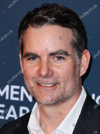 Jeff Gordon arrives at The Women's Cancer Research Fund's An Unforgettable Evening Benefit Gala 2020 held at the Beverly Wilshire, A Four Seasons Hotel on February 27, 2020 in Beverly Hills, Los Angeles, California, United States.