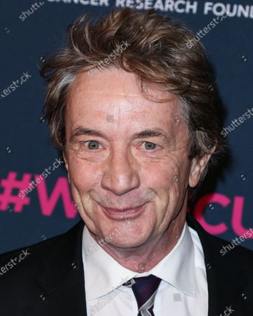 Actor Martin Short arrives at The Women's Cancer Research Fund's An Unforgettable Evening Benefit Gala 2020 held at the Beverly Wilshire, A Four Seasons Hotel on February 27, 2020 in Beverly Hills, Los Angeles, California, United States.