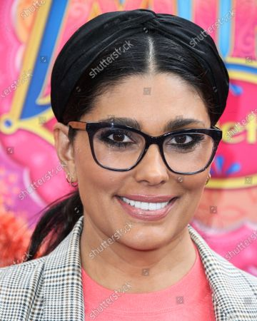 Rachel Roy arrives at the Los Angeles Premiere Of Disney Junior's 'Mira, Royal Detective' held at the Walt Disney Studios Main Theater on March 7, 2020 in Burbank, Los Angeles, California, United States.