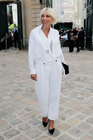 Editorial photo of Giorgio Armani Prive show, Arrivals, Haute Couture Fashion Week, Paris, France - 06 Jul 2021