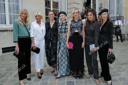 Editorial picture of Giorgio Armani Prive show, Arrivals, Haute Couture Fashion Week, Paris, France - 06 Jul 2021