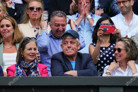 Stock Image of John Bercow watching the action on Centre Court